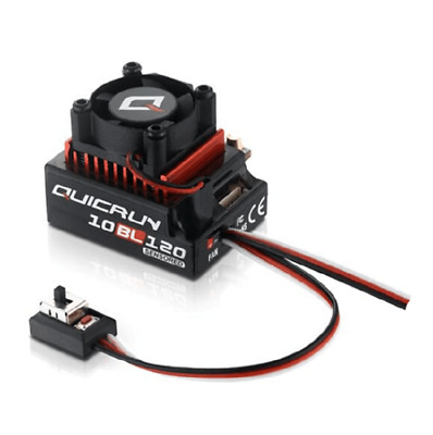 HobbyWing QuicRun 1/10 Brushless Sensored 120A ESC 10BL120 For Car 1:10