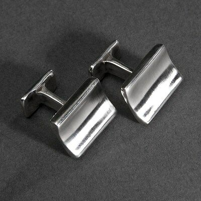 hallmarked sterling silver cufflinks, brand new with box, 16 grams in weight