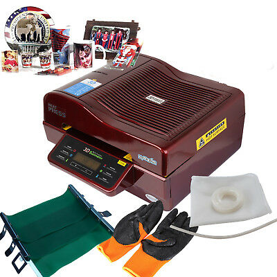 3D Sublimation Vacuum Heat Press Printer Transfer For Phone Case Plates Mugs