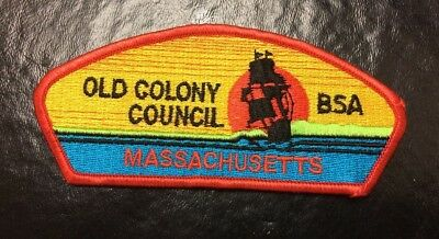 BSA Old Colony Massachusets Council Patch