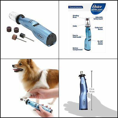 Oster Professional Grooming Kit Pet Dogs Dog Cat Nail Grinder Nails Trimmer file