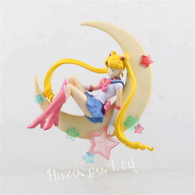Anime Sailor Moon Usagi Tsukino 15cm PVC Figure Figurine New in Box