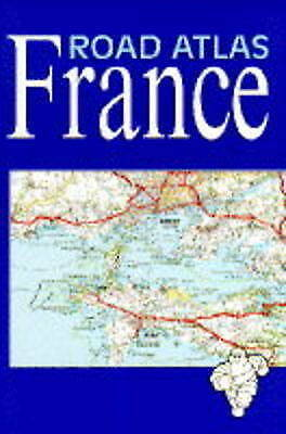 Michelin Road Atlas of France, Acceptable, , Book
