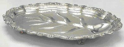 """Rogers Oval Meat Platter/Tray 17.25""""  """"Countess"""" Pattern Silverplate Post-1940 ."""