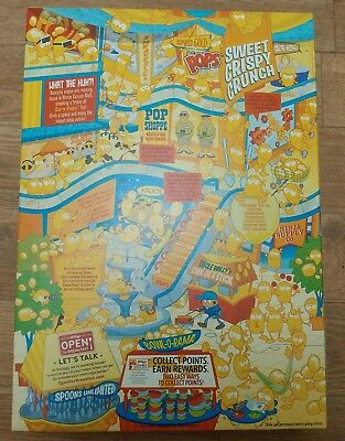 RARE!!! Kelloggs Corn Pops Banned Racist Recalled Giant Size Box New Sealed