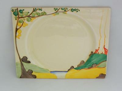 Early SIGNED *CLARICE CLIFF* c1936 -  *SECRETS* Biarritz Plate - VGC