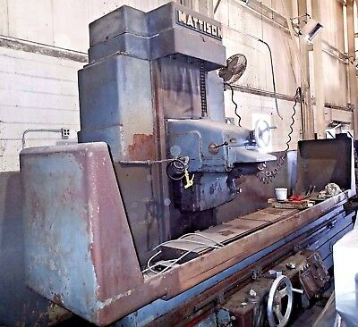 "Mattison 16"" x 96""  Horizontal Wet Surface Grinder, 30 HP, Year 1968"