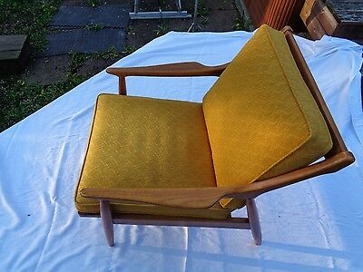 """""""BEAUTIFUL"""" Danish / Art Deco style chair by Seng Company out of CHICAGO IL"""