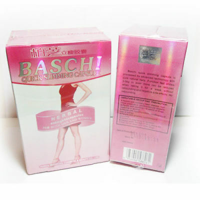 40 Capsule BASCHI Quick Fast Slimming Youthful Herbal 100%