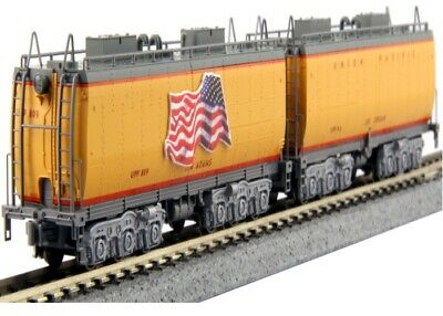 NEW Kato N Scale 2-Car Set Union Pacific Water Tender 106-085