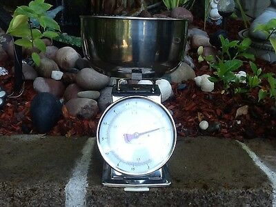 Vintage style Crome Scale