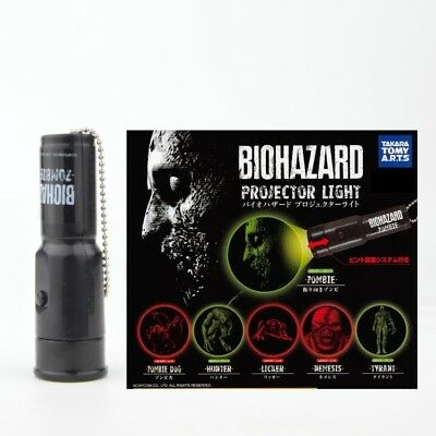 Biohazard Resident Evil Takara Tomy Projector Light  Key Chain - Nemesis