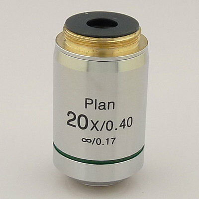 20X Infinity Plan Achromatic Microscope Objective Infinite Lens Brand New