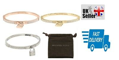 Michael Kors Padlock Bracelets  MKJ3019 Free fast delivery UK seller with pouch