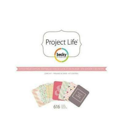 NEW Project Life - Dear Lizzy Core Kit 5th & Frolic Edition