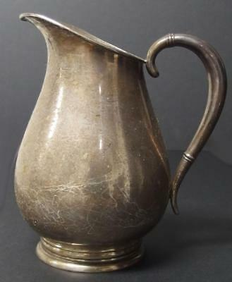 INTERNATIONAL SILVER CO. STERLING PITCHER Lot 139