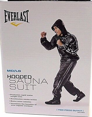 Heavy Duty Sauna Sweat Suit Exercise Gym Suit Fitness Fat Weight Loss Training