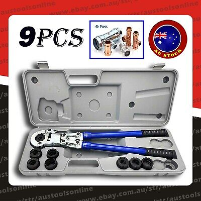 Pipe Crimper Tube Press Plumbing Fitting Tool Pex-Al-Pex B Press 16-32mm