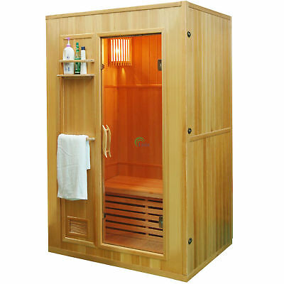 dampfsauna heimsauna mobile mini sauna heimsauna w rmekabine sitzsauna 2 farben eur 58 88. Black Bedroom Furniture Sets. Home Design Ideas
