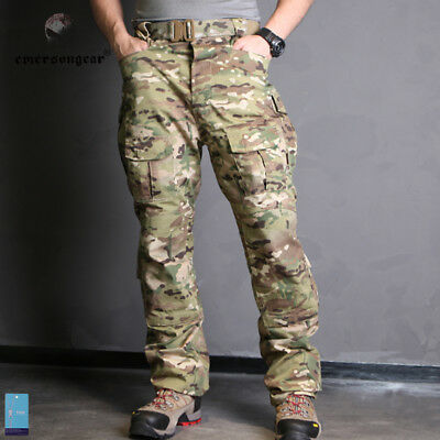 EMERSON CP Field Tactical Pants Camo Trousers Military Duty Paintball MultiCam