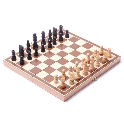 Child Toys Wooden International chess  B4H5