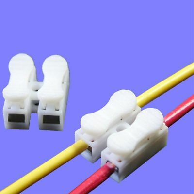 Wire Connection Press Type Sample CH-2 Connector Terminal Block Cable Clamp