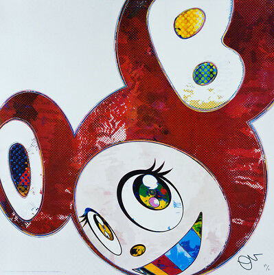 TAKASHI MURAKAMI And then DOB Hand Signed & Numbered Japanese Pop art, superflat