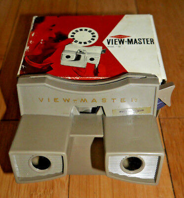 GAF VIEWMASTER VIEWER MODEL G BOXED VINTAGE 1970's RARE  A003