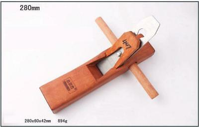 280 MM Long Rose Wood And Edged Blade Woodworking Plane