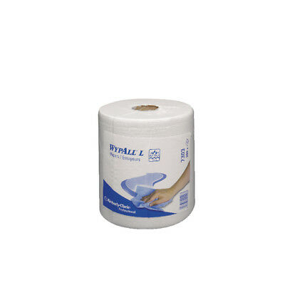 Wypall L20 White Wipers Centrefeed Roll (Pack of 6) 7303