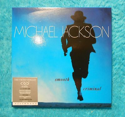 "Michael Jackson Dual Disc "" Smooth Criminal "" Visionary CD DVD RAR Video Single"