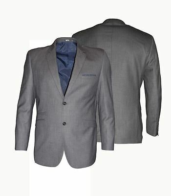 Mens Formal Classic Fit Single Breates Suit Jkt in Grey(Reegan),Chest 48-64,S/R
