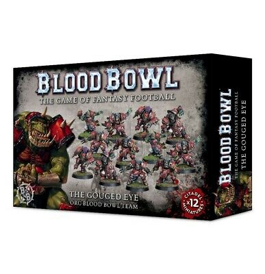 The Gouged Eye Orc Blood Bowl Team Games Workshop 99120909001 Blood Bowl New