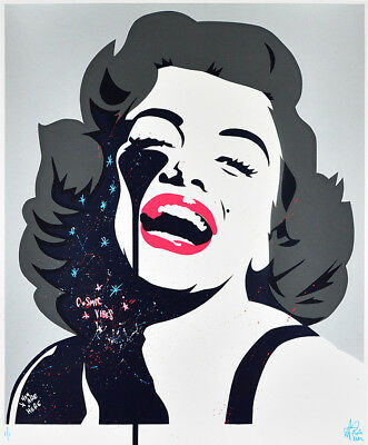 PURE EVIL - Screaming Marilyn Monroe - unique 1/1 | Urban, Street art, Pop Art