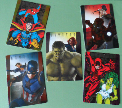 Panini Marvel Heroes Limited Edition Cards