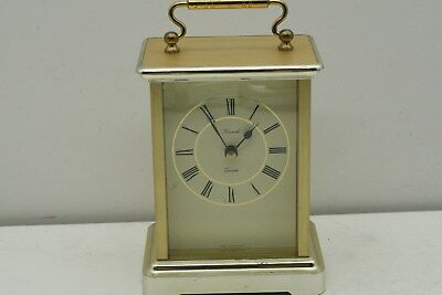 "Neat 3 3/4"" X 2 3/4"" X 4 3/4"" Kienzle Quartz Shelf Clock Germany"