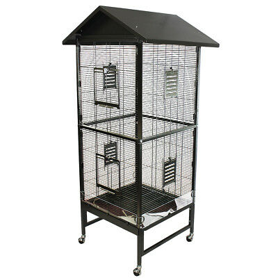 Peak Roof Cage - for Sugar Gliders, Squirrels, Marmosets