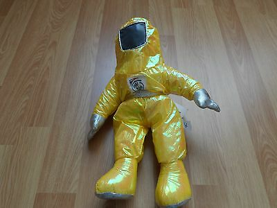 "Intel Pentium II Toy Astronaut Space Doll Yellow Bunny People 1997 13"" Brand New"