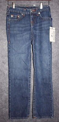 Boys True Religion Jeans Straight Fit Jeans NWT Laguna Size 10 Boys