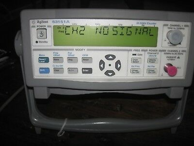 Agilent 53151A 10Hz-26.5GHz Microwave Frequency Counter just calibrated PERFECT