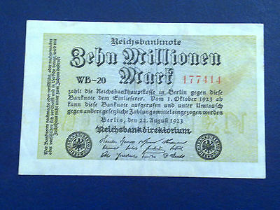 Germany - 10 Million Mark 1923 - Very Fine