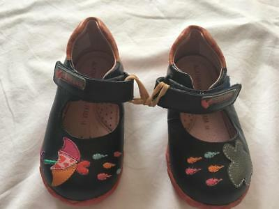 AGATHA RUIZ de la PRADA Baby Girls Pre-Walker/Pram RAINDROP Shoes EU18 6-9m NWOT