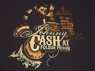 Johnny Cash Shirt ( Used Size L ) Very Nice Condition!!!
