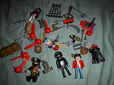 Playmobil Assorted Replacement Parts Figures Weapons Toy