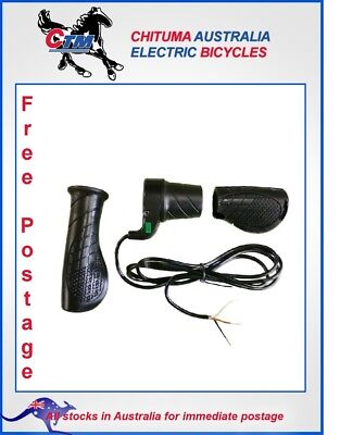 Twist Half Throttle Set TH017 - suits Electric Tricycle Bicycle & Scooter