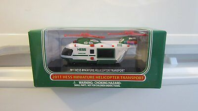 2011 Hess Mini helicopter
