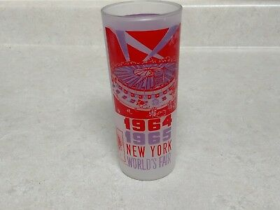 Vintage 1964/1965 New York World's Fair Souvenir Glass NEW