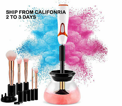 Electric Cosmetic Makeup Brush Cleaner and Dryer Machine Washing Tool [2018 NEW]