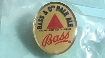 BASS & Co.'s  Pale Ale - BEER Pin. Small Lapel Pin