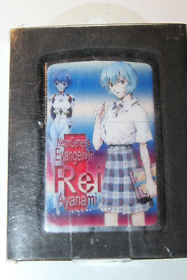 Evangelion NeonGenesis Rei Ayanami Lighter from Japan